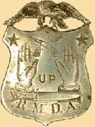 Rocky Mountain Detective Association badge