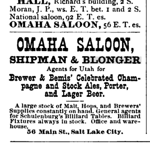 Omaha Beer Saloon
