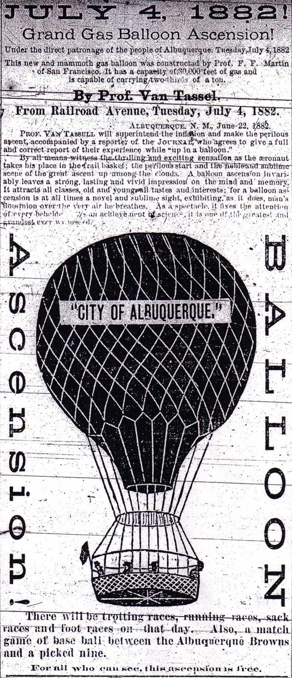 Albuquerque Morning Journal advertisement