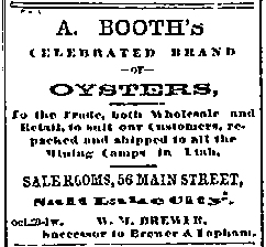 Booths Oysters
