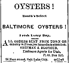 Booth's Oysters