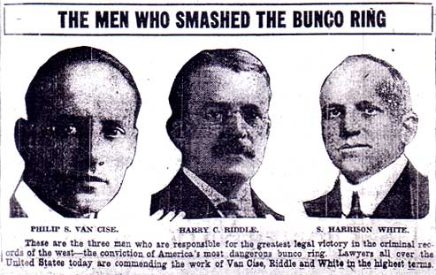 The Men Who Smashed The Bunco Ring