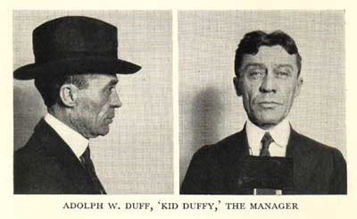 Adolph W. Duff, Kid Duffy