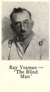 Blindman Ray Yeaman